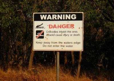Danger Warning Signage at Tipperary Station