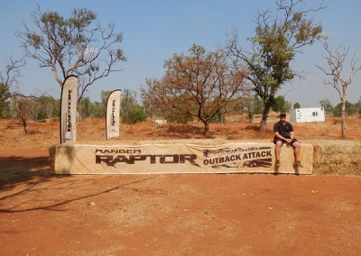 AvertRisk at the Ford Ranger Raptor Outback Attack